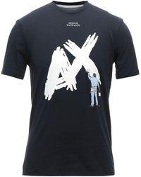 Armani Exchange T-shirt - Bleu