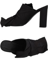 Gentry Portofino Sandals - Black