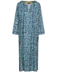 Lisa Corti Vestido midi - Azul
