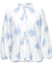LoveShackFancy Camicia - Bianco