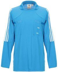 adidas Originals T-shirts - Blau