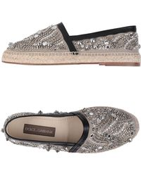 Dolce & Gabbana Espadrilles - Neutre