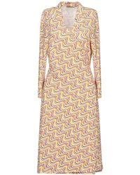 Camicettasnob Short Dress - Yellow