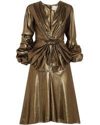 Johanna Ortiz Midi Dress - Multicolour