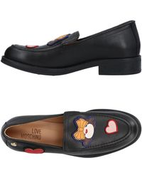 Love Moschino Loafer - Black