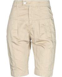 Dondup Bermuda Shorts - Natural