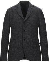 Mp Massimo Piombo Suit Jacket - Black