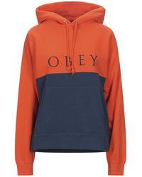 Obey Sweatshirt - Orange