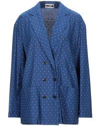 Hache Suit Jacket - Blue