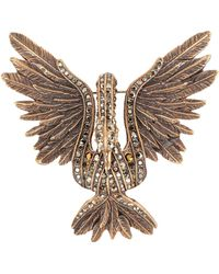 Lanvin Brooch - Metallic