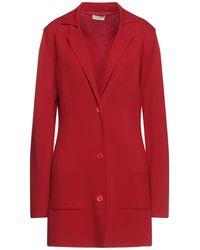 Cruciani Suit Jacket - Red