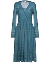 M Missoni Knee-length Dress - Blue