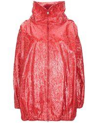 De'Hart Overcoat - Red