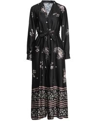 Angela Davis Long Dress - Black
