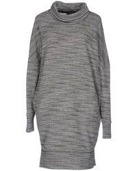 European Culture - Short Dress - Lyst