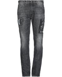 Just Cavalli Pantalon en jean - Noir