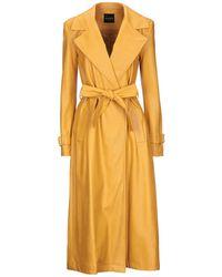 ACTUALEE Overcoat - Yellow
