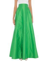 Hanita Long Skirt - Green