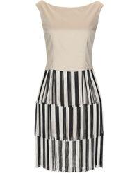 ALTEЯƎGO Short Dress - Natural