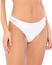 Ermanno Scervino Partes de abajo de bikini - Blanco