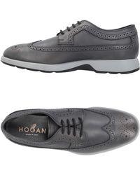 Hogan Lace-up Shoe - Grey