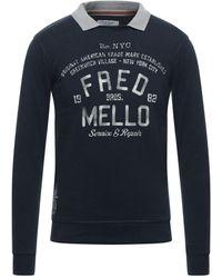 Fred Mello Sweatshirt - Blau
