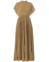 Dior Long Dress - Green