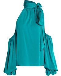 MILLY - Blouse - Lyst