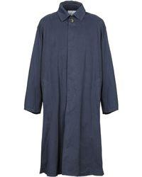 American Vintage Overcoat - Blue