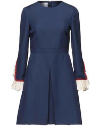 Valentino Robe courte - Bleu