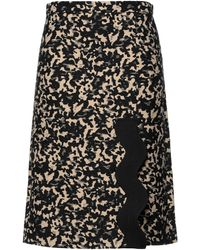 Ports 1961 Midi Skirt - Black