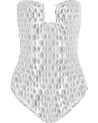 Prism Badeanzug - Weiß