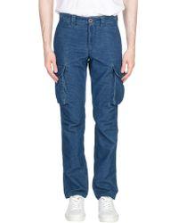 Incotex Pantalon - Bleu