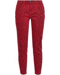 Current/Elliott Denim Pants - Red