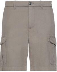 Eleventy Shorts & Bermuda Shorts - Grey