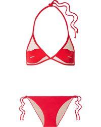 Adriana Degreas Bikini - Red