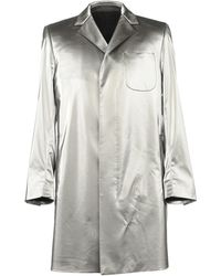 MSGM - Overcoat - Lyst
