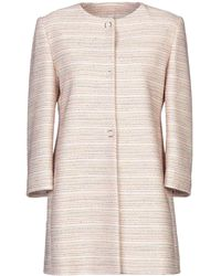 BRERAS Milano Overcoat - Pink