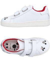 Disney Low Sneakers & Tennisschuhe - Weiß