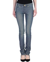Superfine Pantalon en jean - Bleu