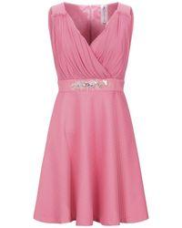 22 Maggio By Maria Grazia Severi Short Dress - Pink
