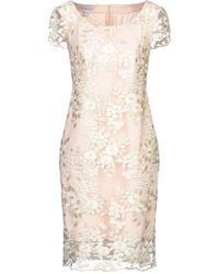 GIORGIO AJUTANTI Knee-length Dress - Natural