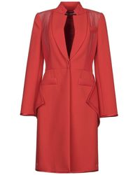 Givenchy Manteau long - Rouge