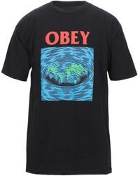 Obey T-shirt - Black
