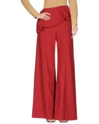 Rosie Assoulin Pantalon - Rouge