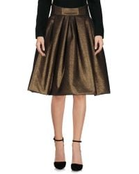 Io Couture | Knee Length Skirt | Lyst