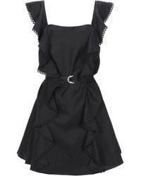 Lover Short Dress - Black