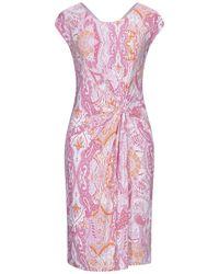Laure'l Knielanges Kleid - Lila