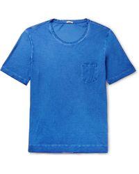 Massimo Alba T-shirt - Bleu