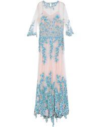 Blumarine Long Dress - Blue
